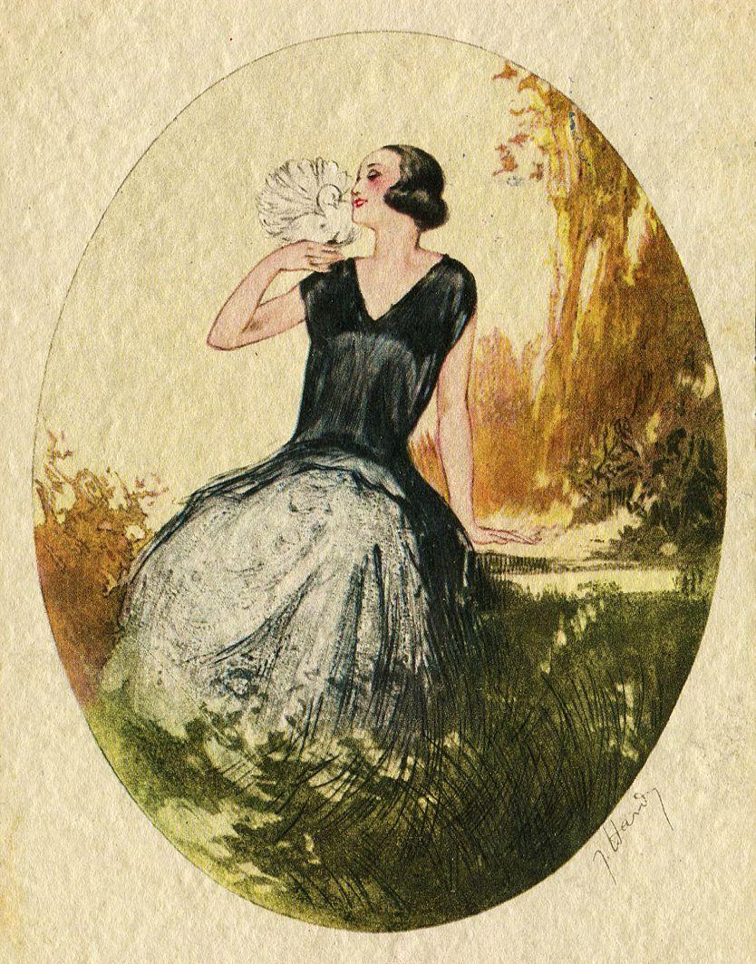 Броніслава Яновська. Жіноча фігура, 1927; папір, акварель