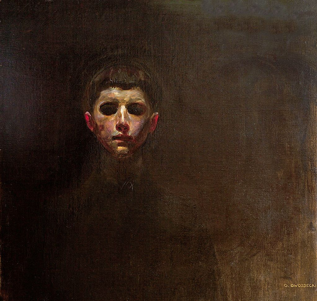 Густав Гвоздецький. Голова хлопчика/Апокаліпсис, 1904; олія, полотно; NMK