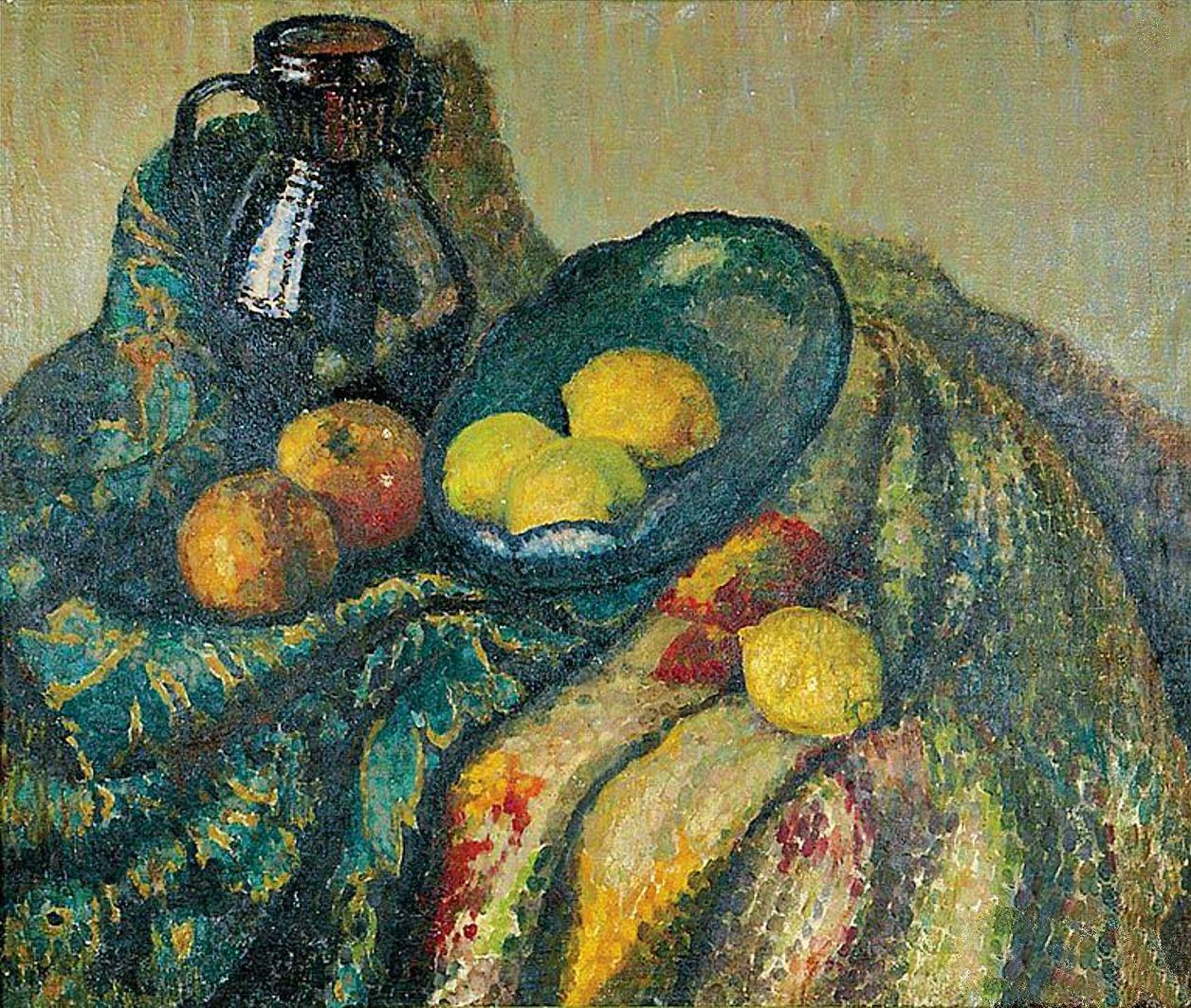 Яніна Новотнова. Натюрморт, 1926; олія, холст