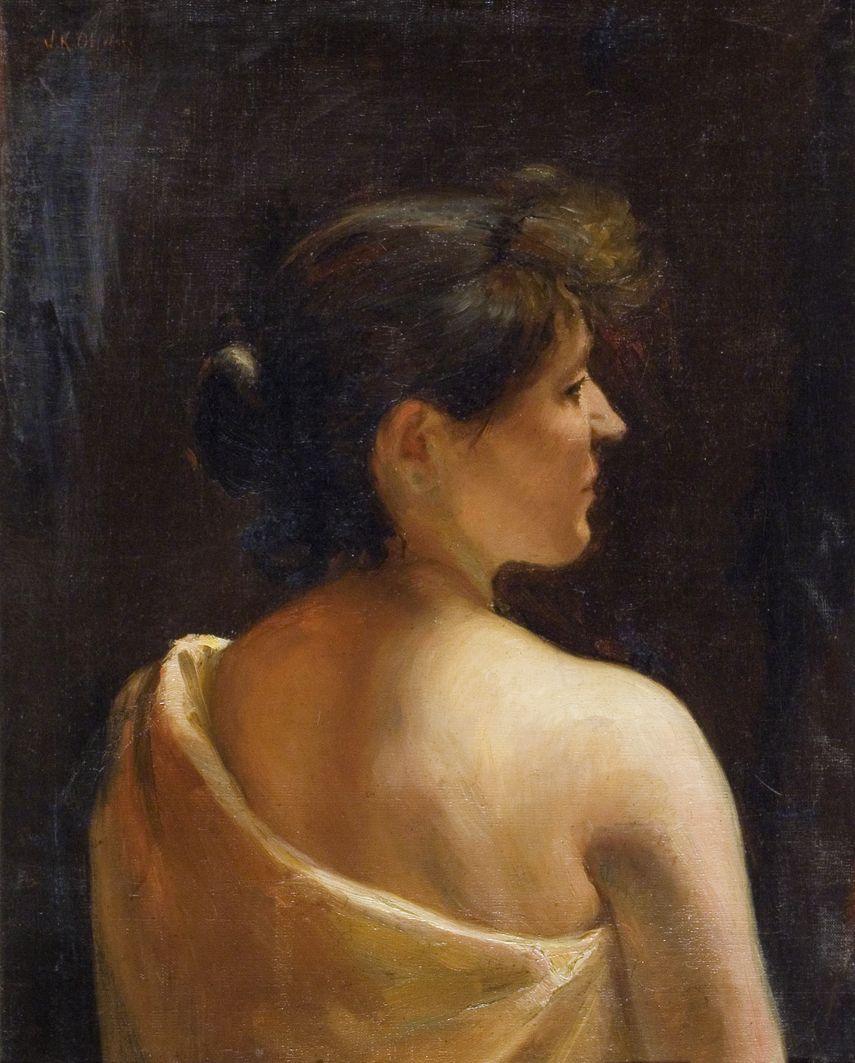 Ян Казімеж Ольпінський. Айседора Дункан, 1908; полотно, олія