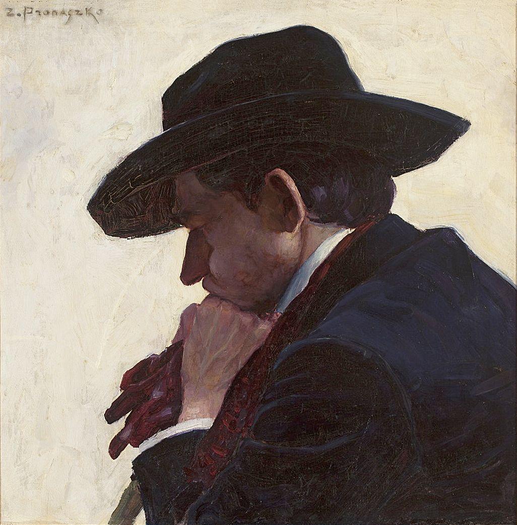 Збігнєв Пронашко. Анджей Пронашко, 1911;; полотно, олія; NMW