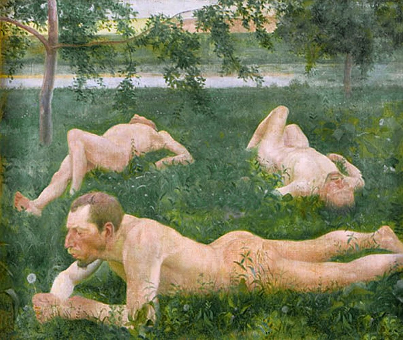 Збігнєв Пронашко. Кульбабка, 1909; полотно, олія