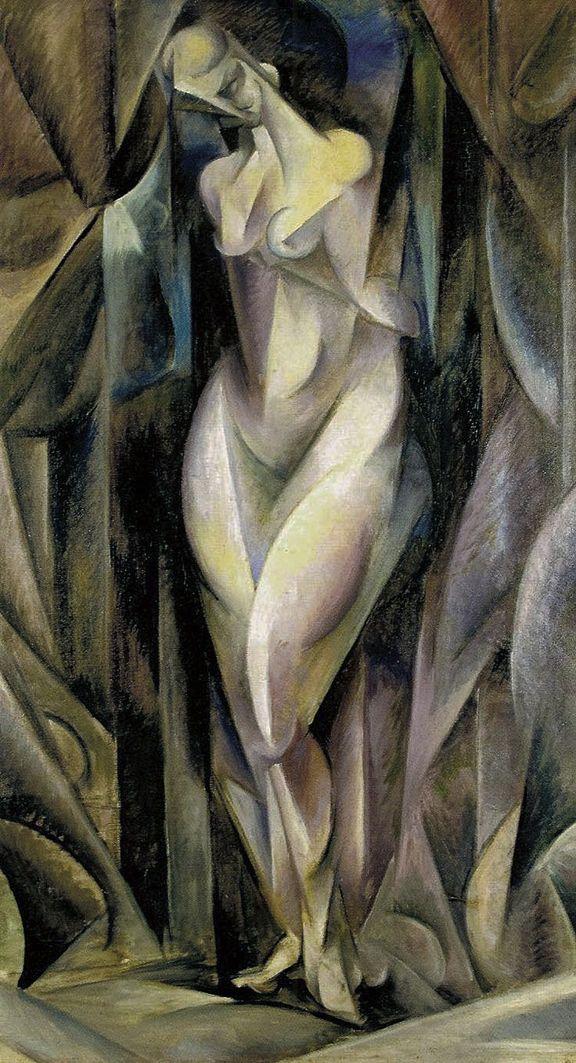 Збігнєв Пронашко. Ню формістичне, 1917; полотно, олія; NMK