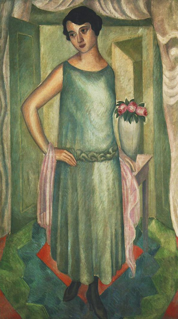 Збігнєв Пронашко. Портрет дружини, 1922; полотно, олія; NMK