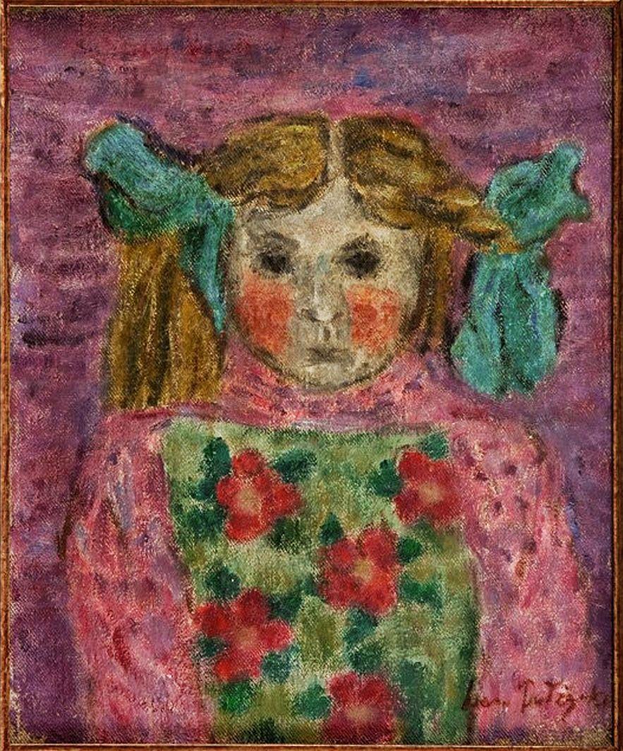 Леон Должицький. Марися, 1957; олія, холст