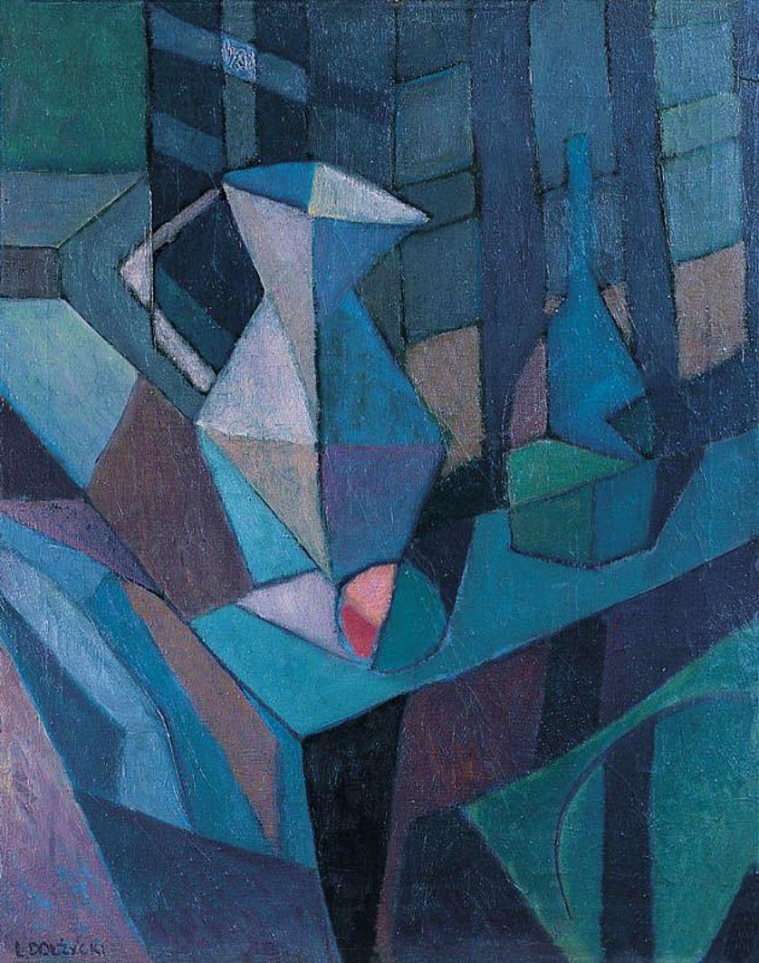 Леон Должицький. Натюрморт, 1961; олія, холст