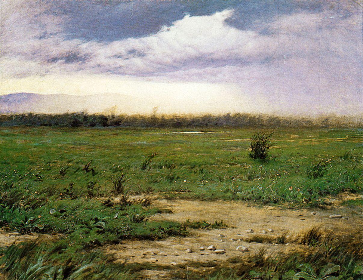 Роман Братковський. Перед бурею, 1905; олія, полотно; ЛНГМ