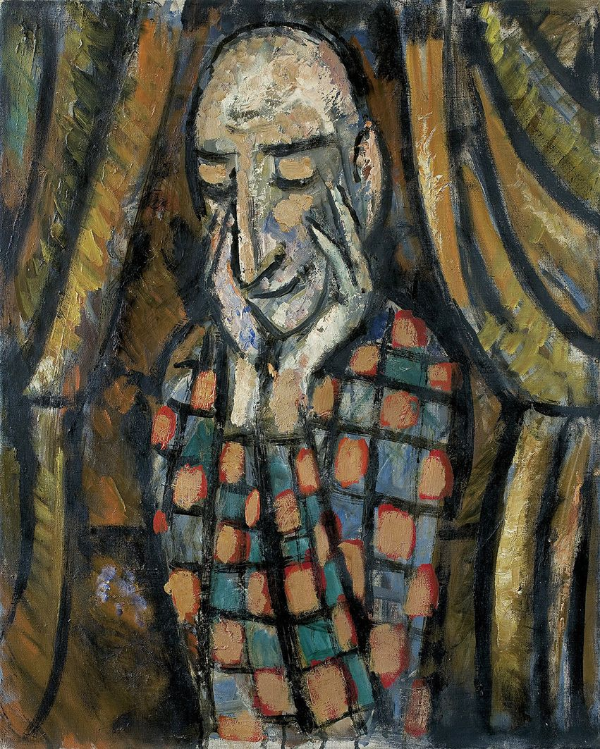 Тимон Нешеловський. Циркач, 1962; олія, полотно