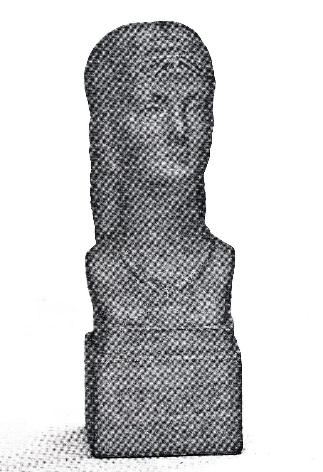 Антін Павлось. Княжна з Крилоса, 1938; кераміка ЛМЕХП