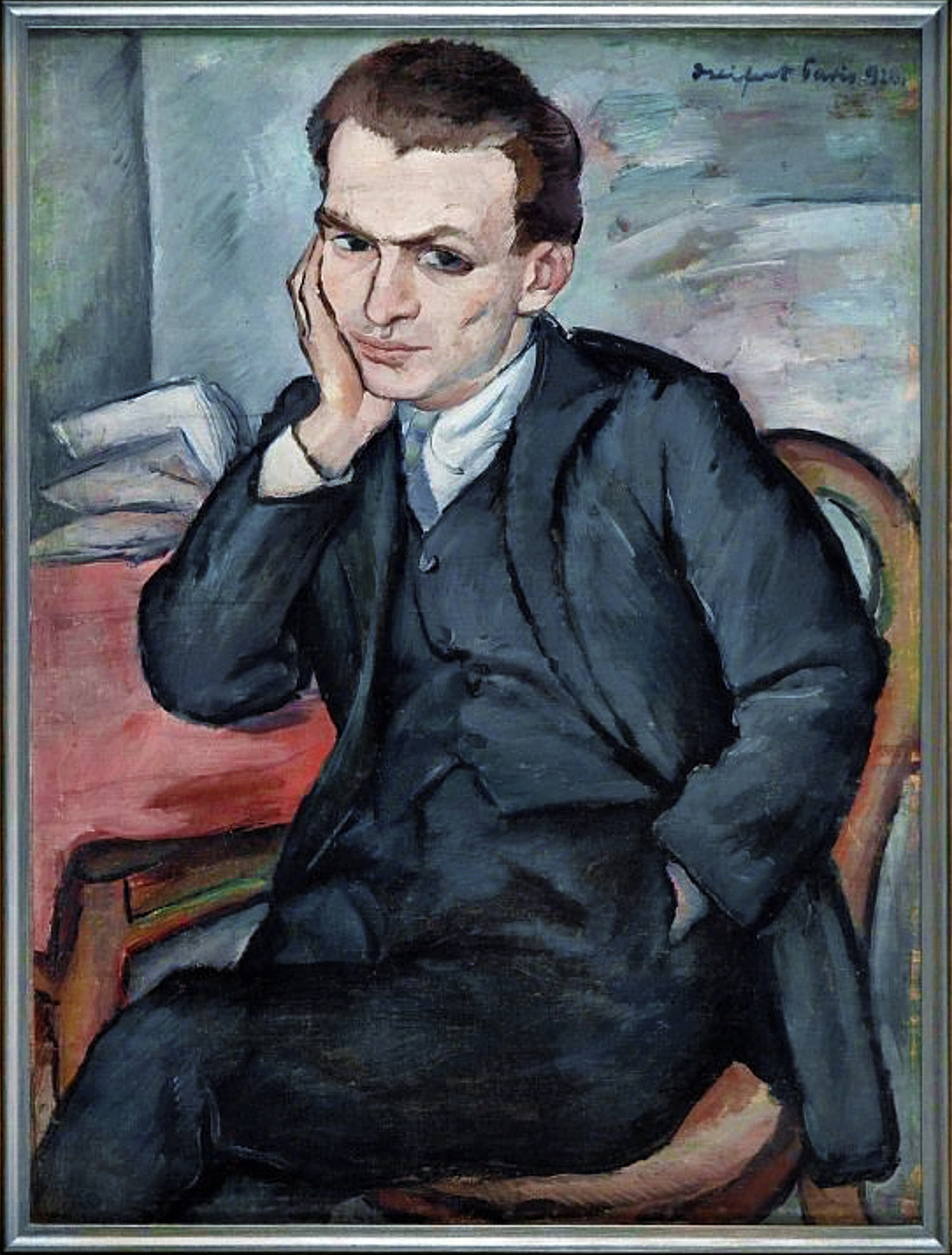 Давід Сейфер. Автопортрет, 1926; олія, полотно