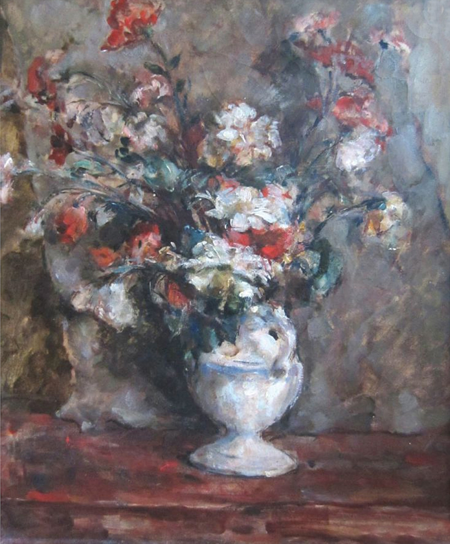 Давід Сейфер. Букет квітів; олія, полотно