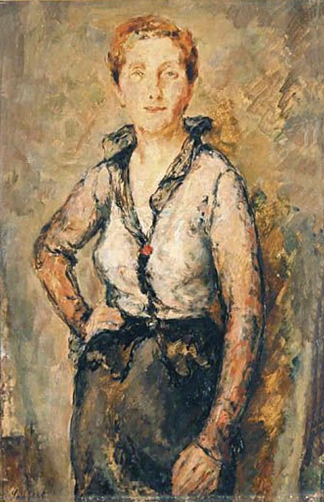 Давід Сейфер. Жіночий портрет; олія, полотно