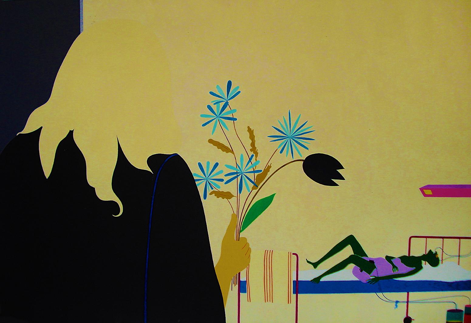 Емануель Проуллер. Останній візит, 1975; олія, полотно