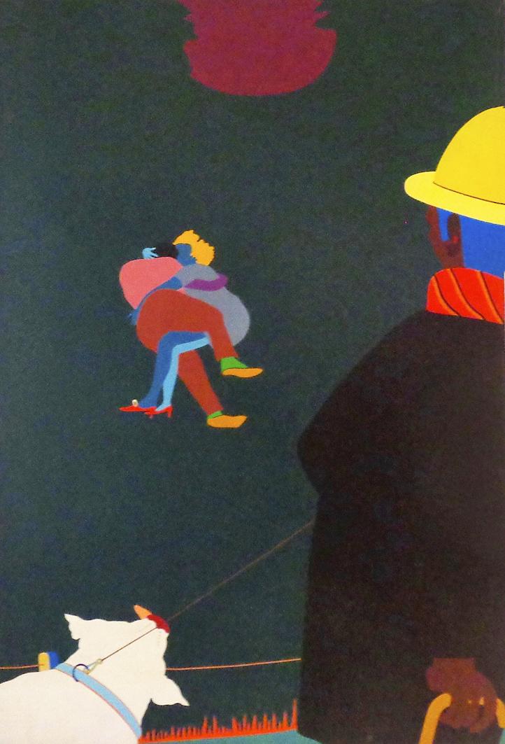Емануель Проуллер. Прогулянка з Вінсен, 1971; олія, полотно