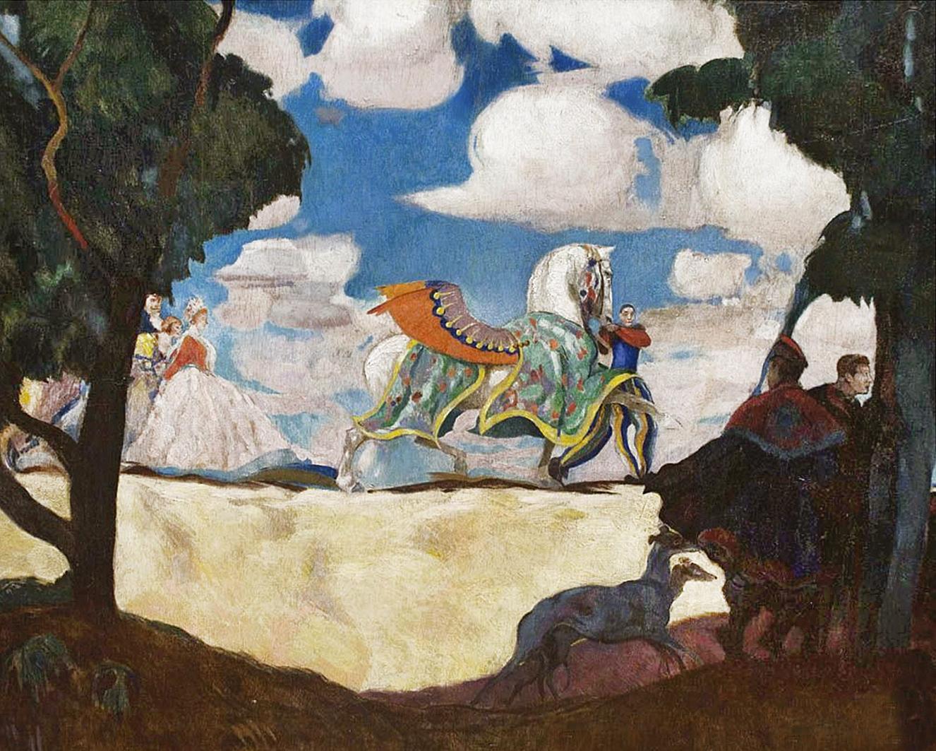 Євген Гепперт. Пегас, 1920-ті