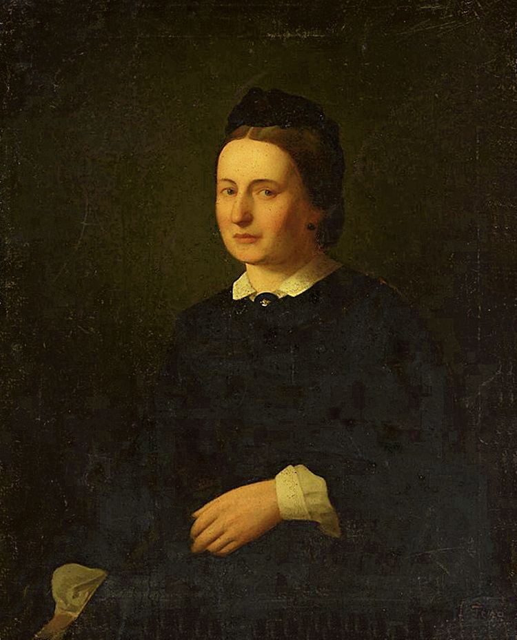 Францішек Томаш Тепа. Антоніна Балутовська, 1864; полотно, олія; NMW
