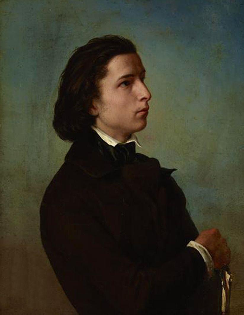 Францішек Томаш Тепа. Автопортрет, 1850; полотно, олія; NMK