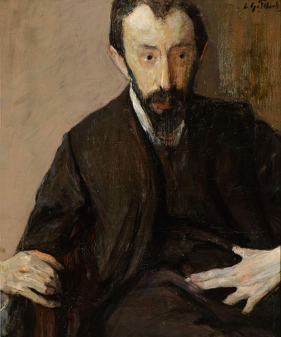 Леопольд Ґоттліб. Художник L Hirszenherg, 1920-ті; олія, полотно