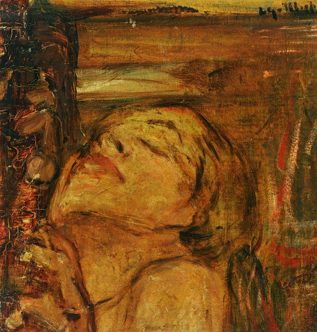 Леопольд Ґоттліб. Екстаз, 1930-ті; олія, полотно
