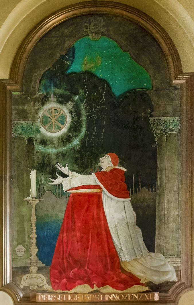 Ян Генрик Розен. Молитва Папи Іннокентія XI, Відень
