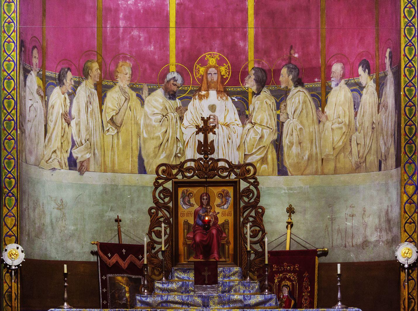 Ян Генрик Розен. Вірменський собор апсида Таїнства Євхаристії, 1928