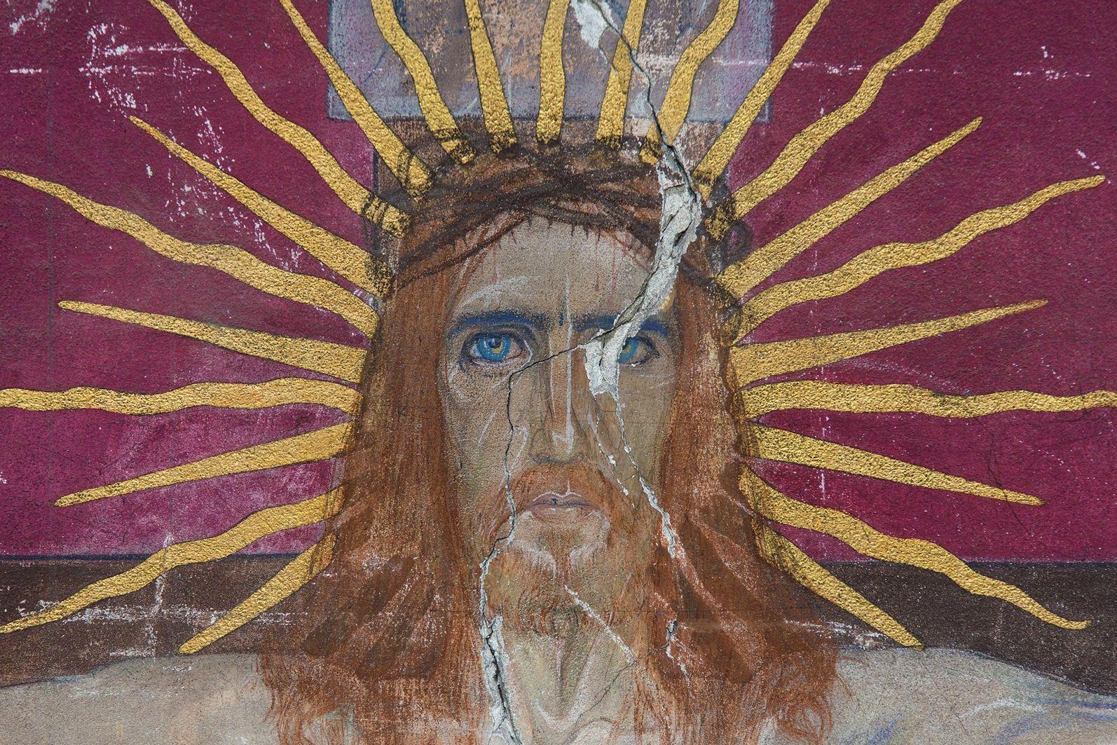 Ян Генрик Розен. Вірменський собор Розп'яття Христос