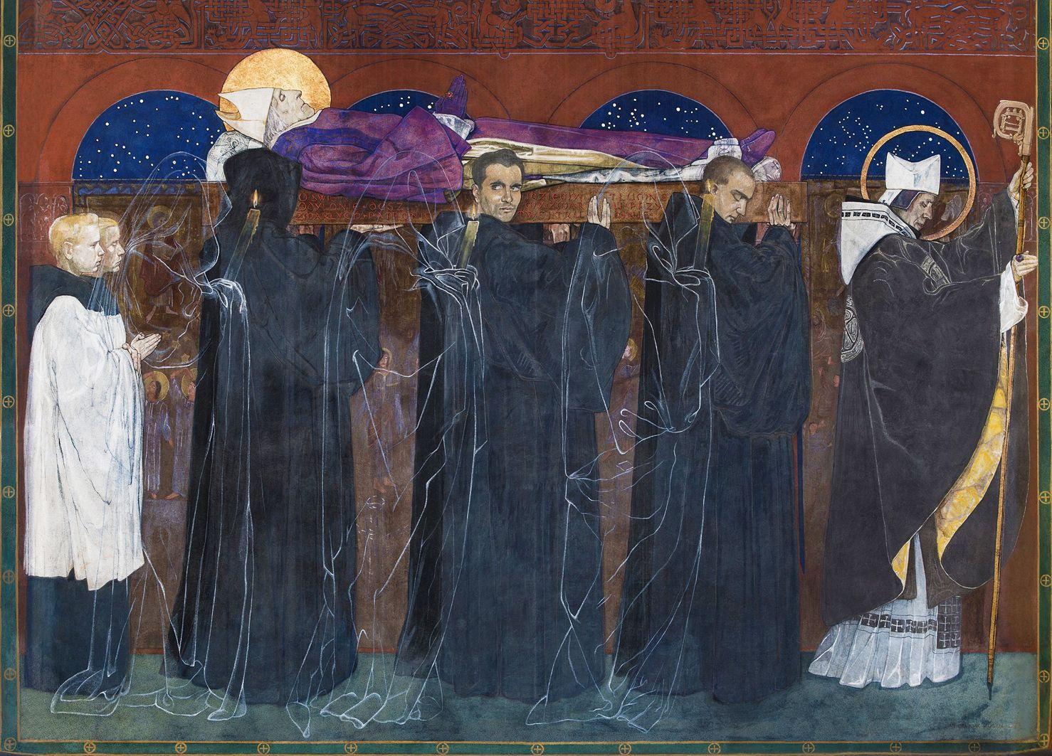 Ян Генрик Розен. Вірменський собор. Поховання св Одільона