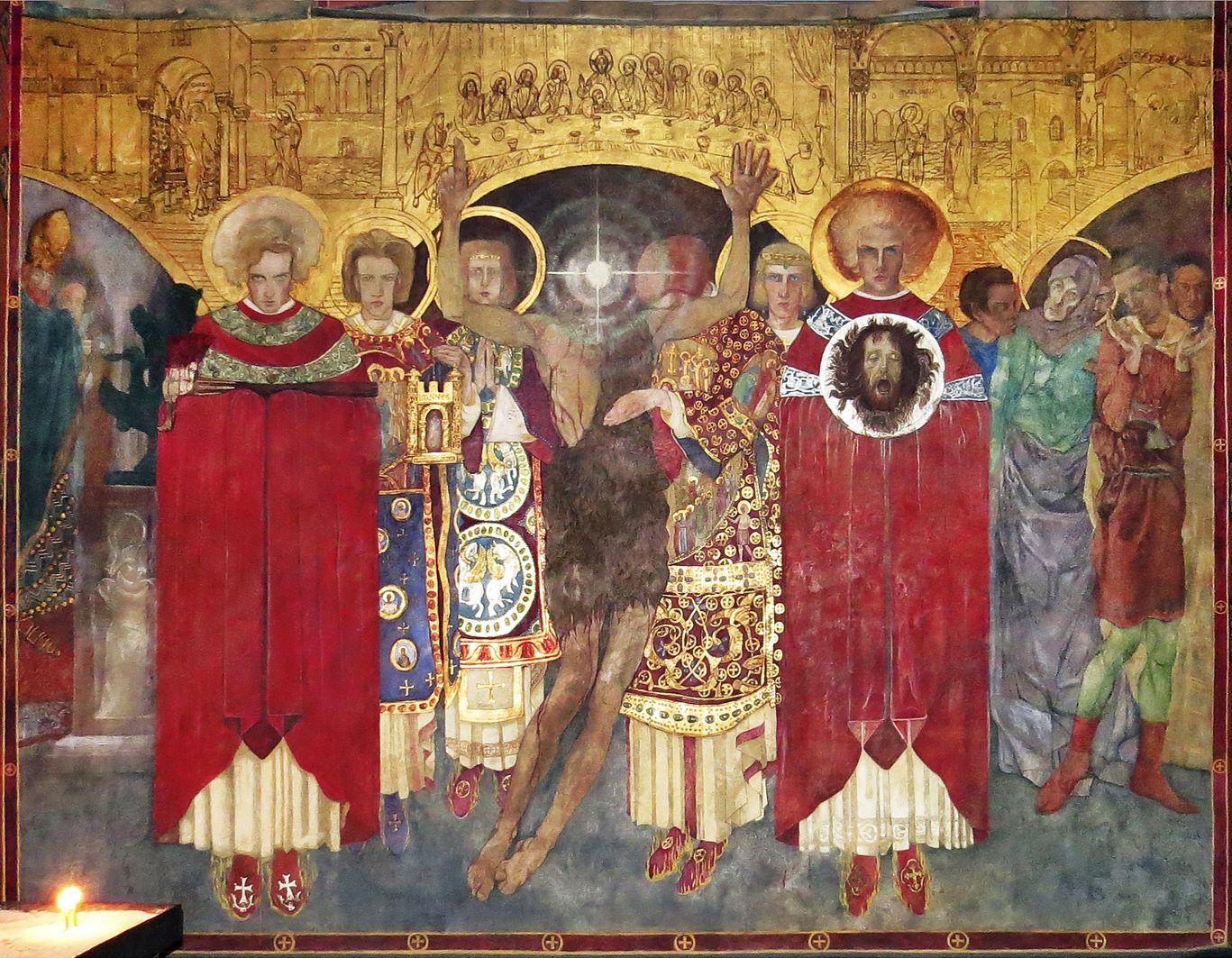 Ян Генрик Розен. Вірменський собор Усікновення голови Івана Хрестителя