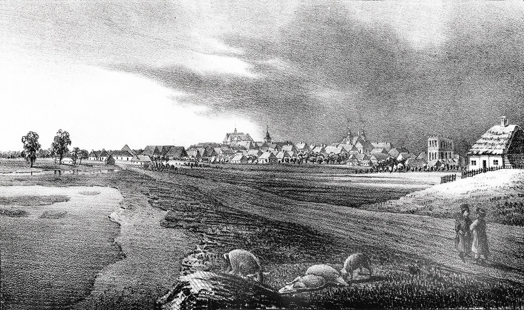 Мацей Боґуш Зиґмунт Стенчинський. Белз (Сокаль), 1847; літографія