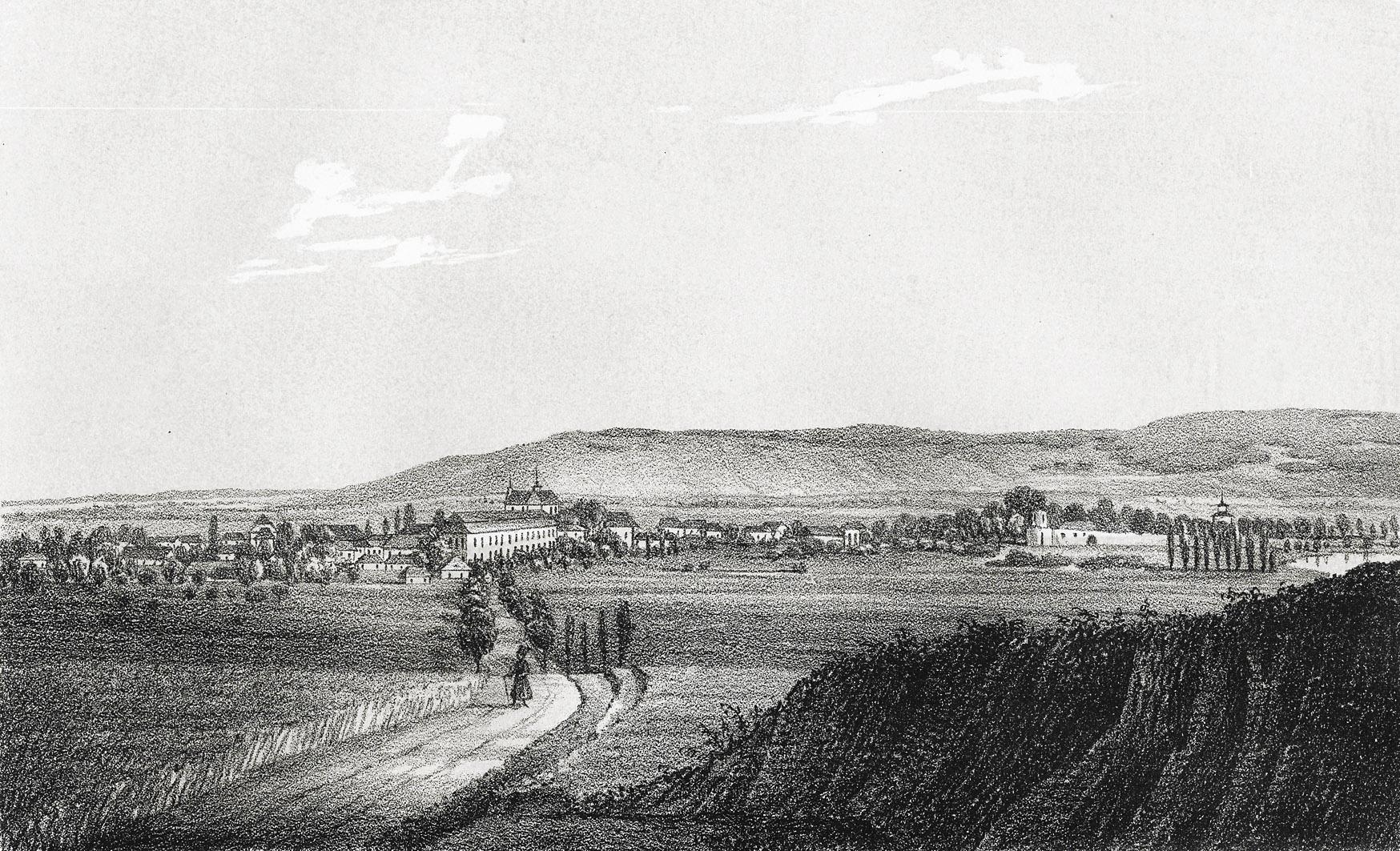 Мацей Боґуш Зиґмунт Стенчинський. Білий Камінь, 1848; літографія