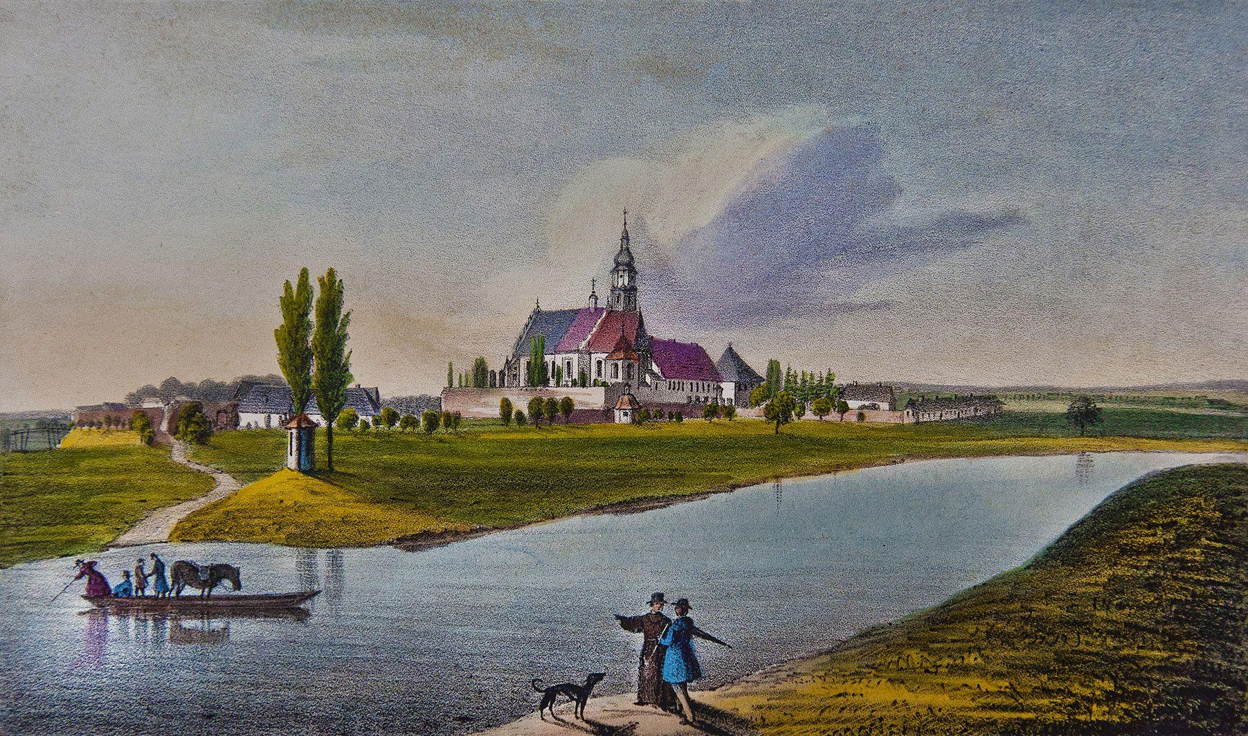Мацей Боґуш Зиґмунт Стенчинський. Сокаль монастир бернардинів, 1847; літографія
