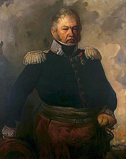 Александер Рачинський. Портрет Юзефа Дверницького, 1856