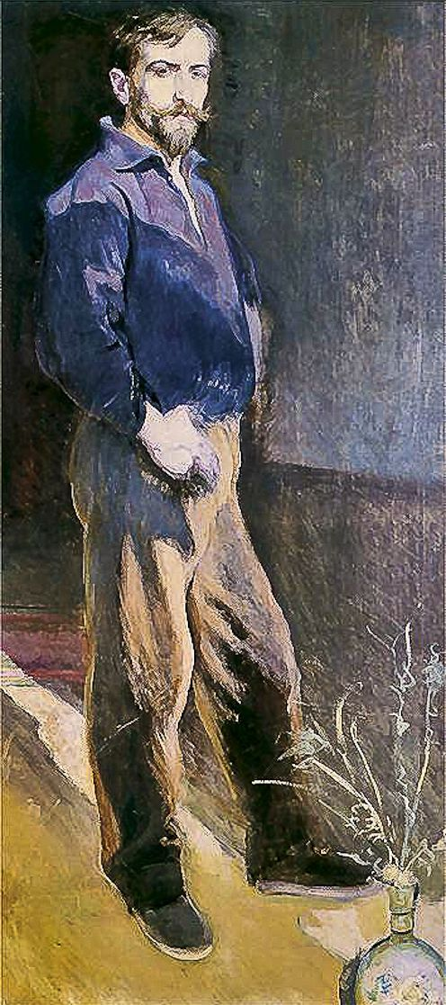 Станіслав-МечиславДембіцький. Автопортрет, 1900; олія, полотно; NMK
