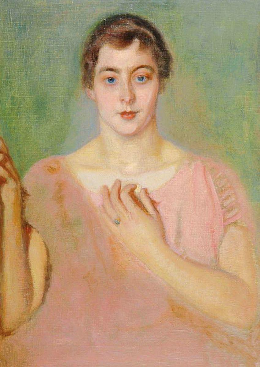 Станіслав-МечиславДембіцький. Катажина Мрозова, 1924; олія, полотно