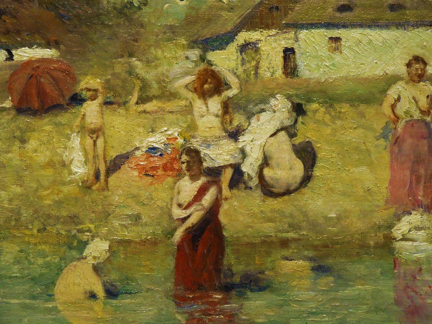 Станіслав-МечиславДембіцький. Купання жінок, 1887; олія, полотно