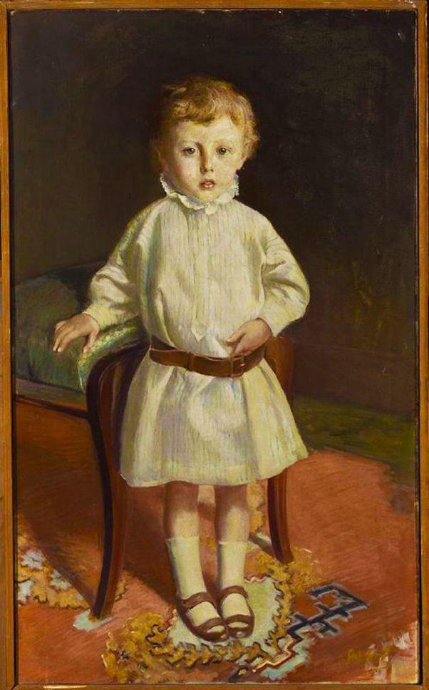 Станіслав-МечиславДембіцький. Портрет дівчини, 1900-ті; олія, полотно; NMW