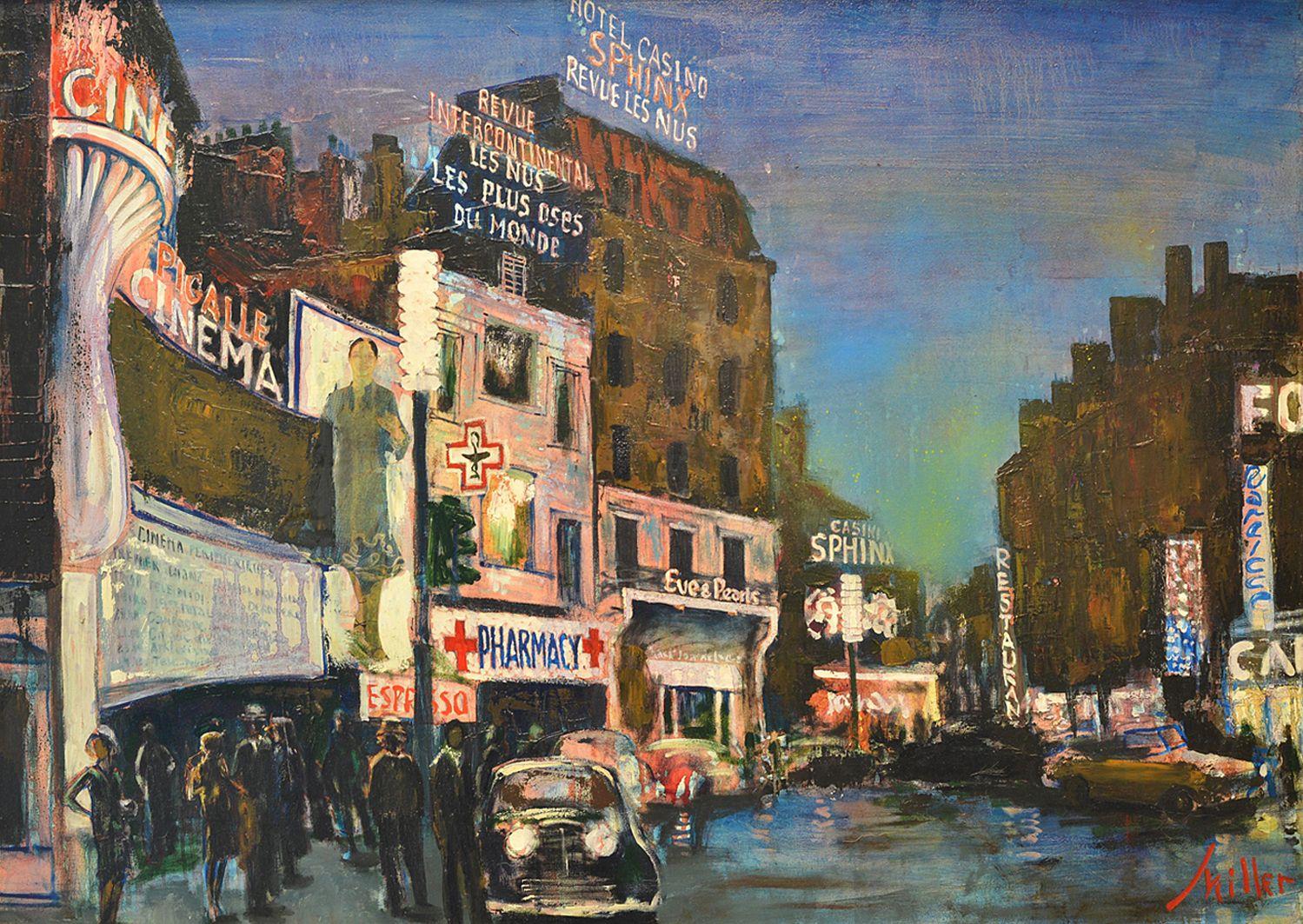 Володимир Міллер. Париж, 1980-ті