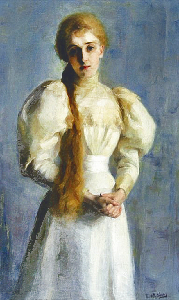 Анєля Пайонкувна. Зофія Ріттнерова, 1894; олія, полотно; MHW