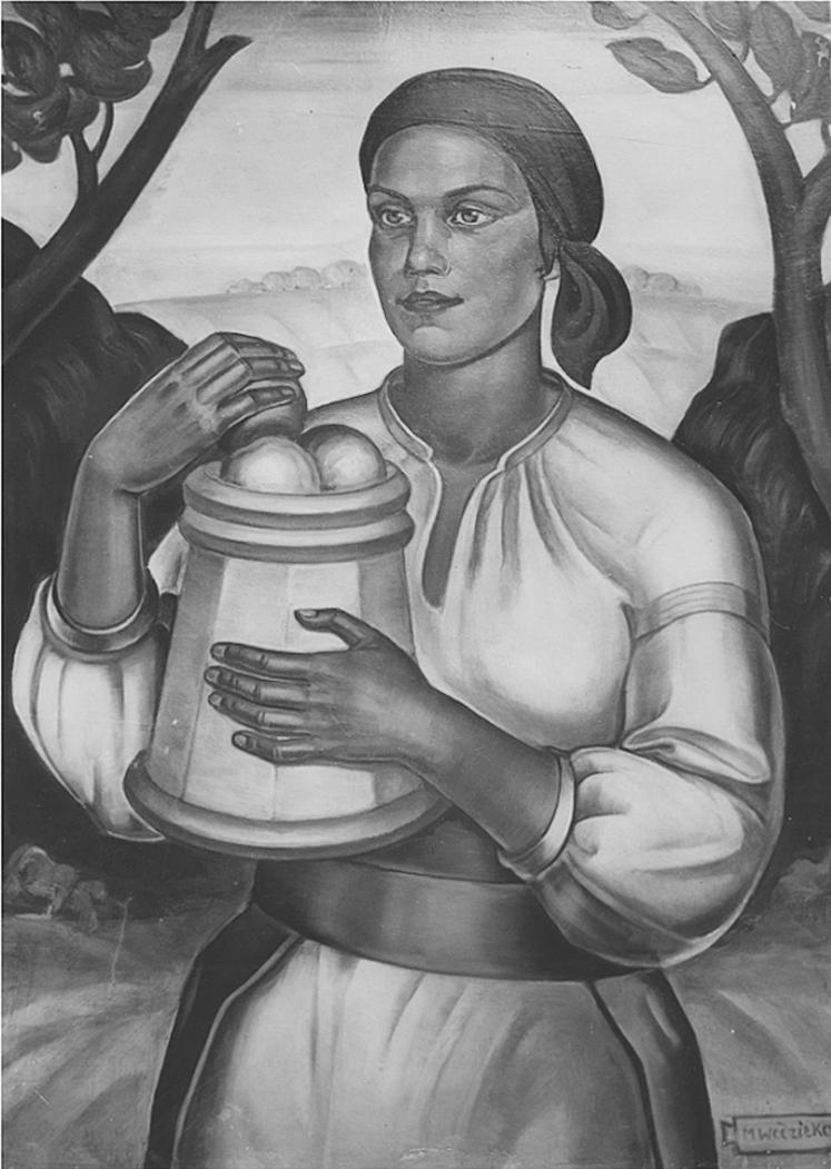 Марія Водзіцька. Помона, 1930-ті