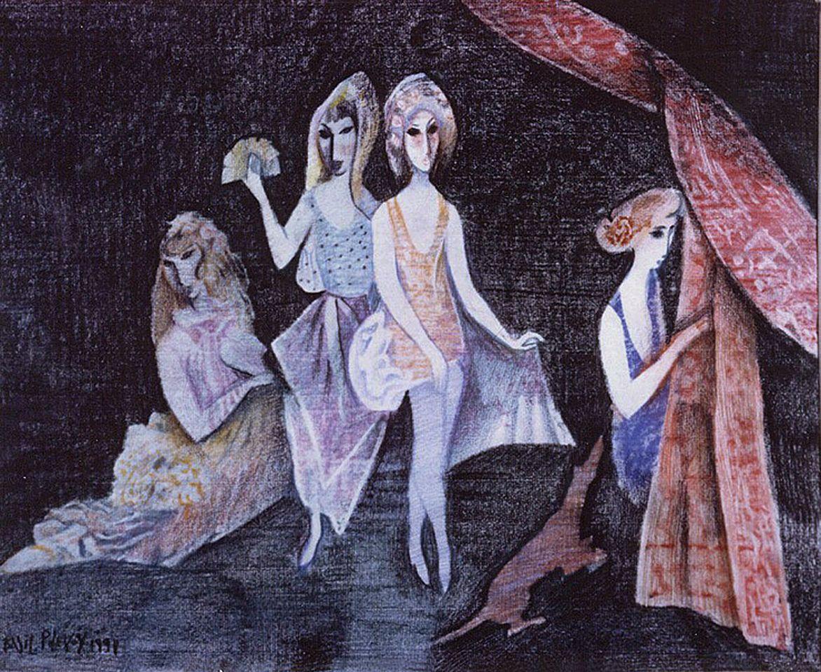Василь Польовий. Циганки, 1991