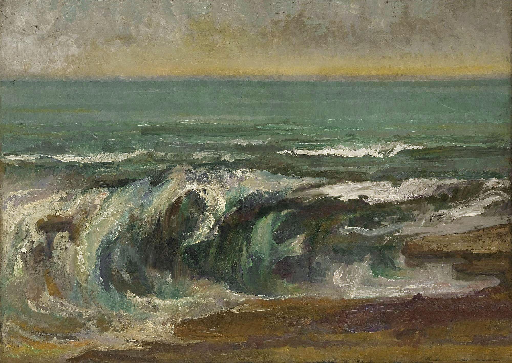 Марія Гіжберт-Студницька. Море, 1914; олія, полотно, NMK