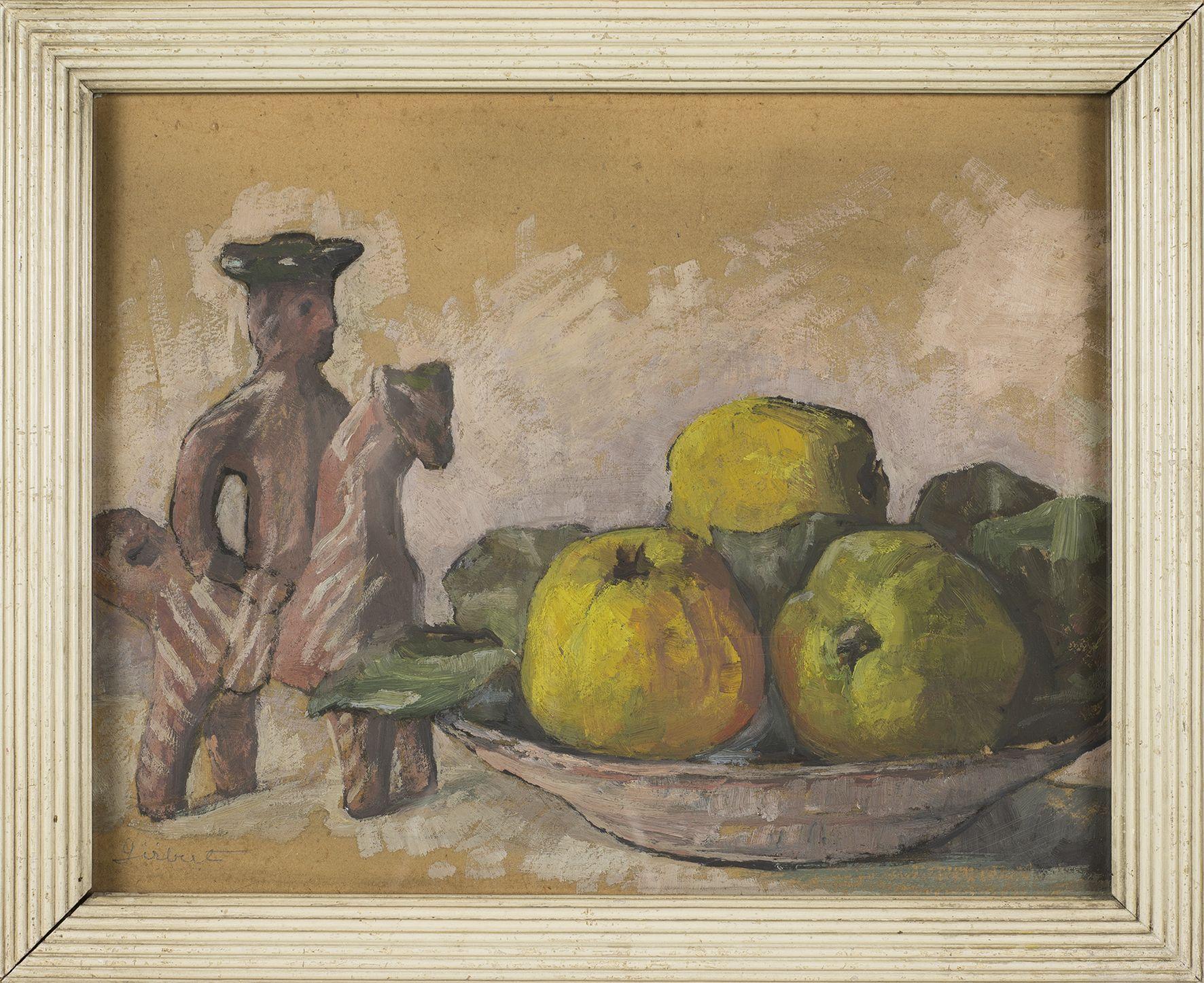 Марія Гіжберт-Студницька. Натюрморт з яблуками