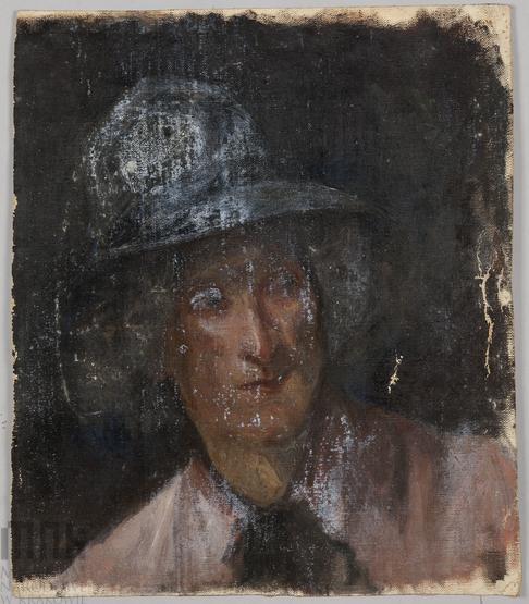 Марія Гіжберт-Студницька. Портрет дівчини в капелюшку, МНК