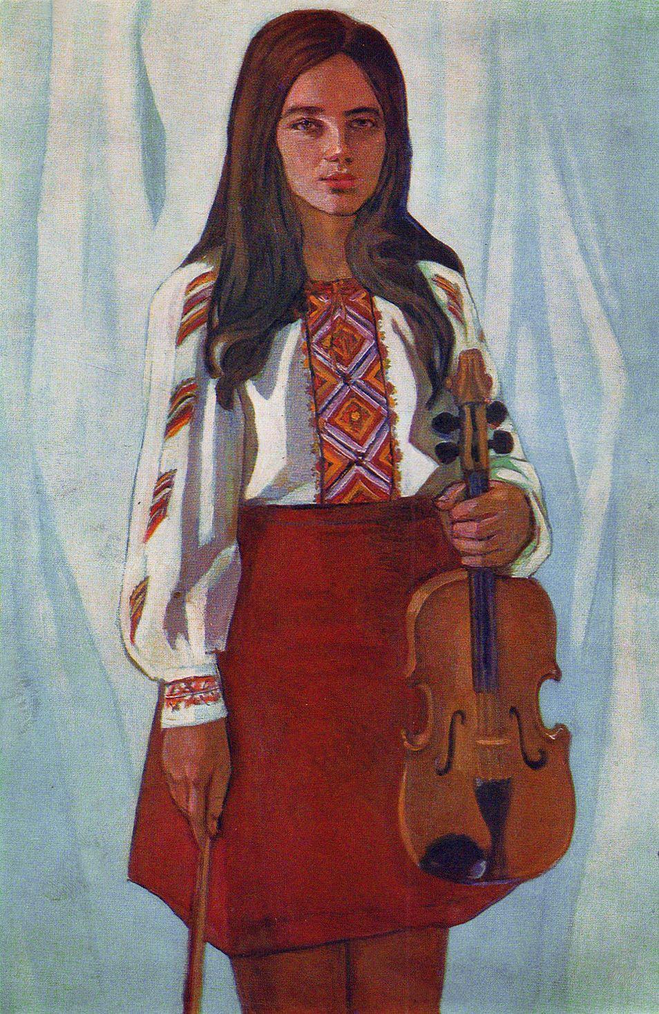 Михайло Ткаченко. Дебют, 1975; олія, полотно