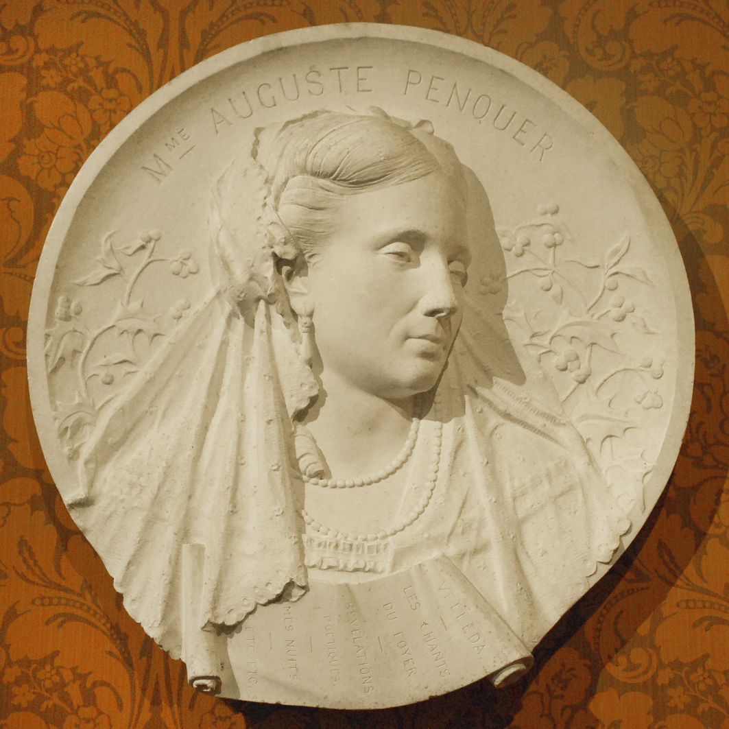 Ципріан Годебський. Медальйон Léocadie Hersent-Penquer