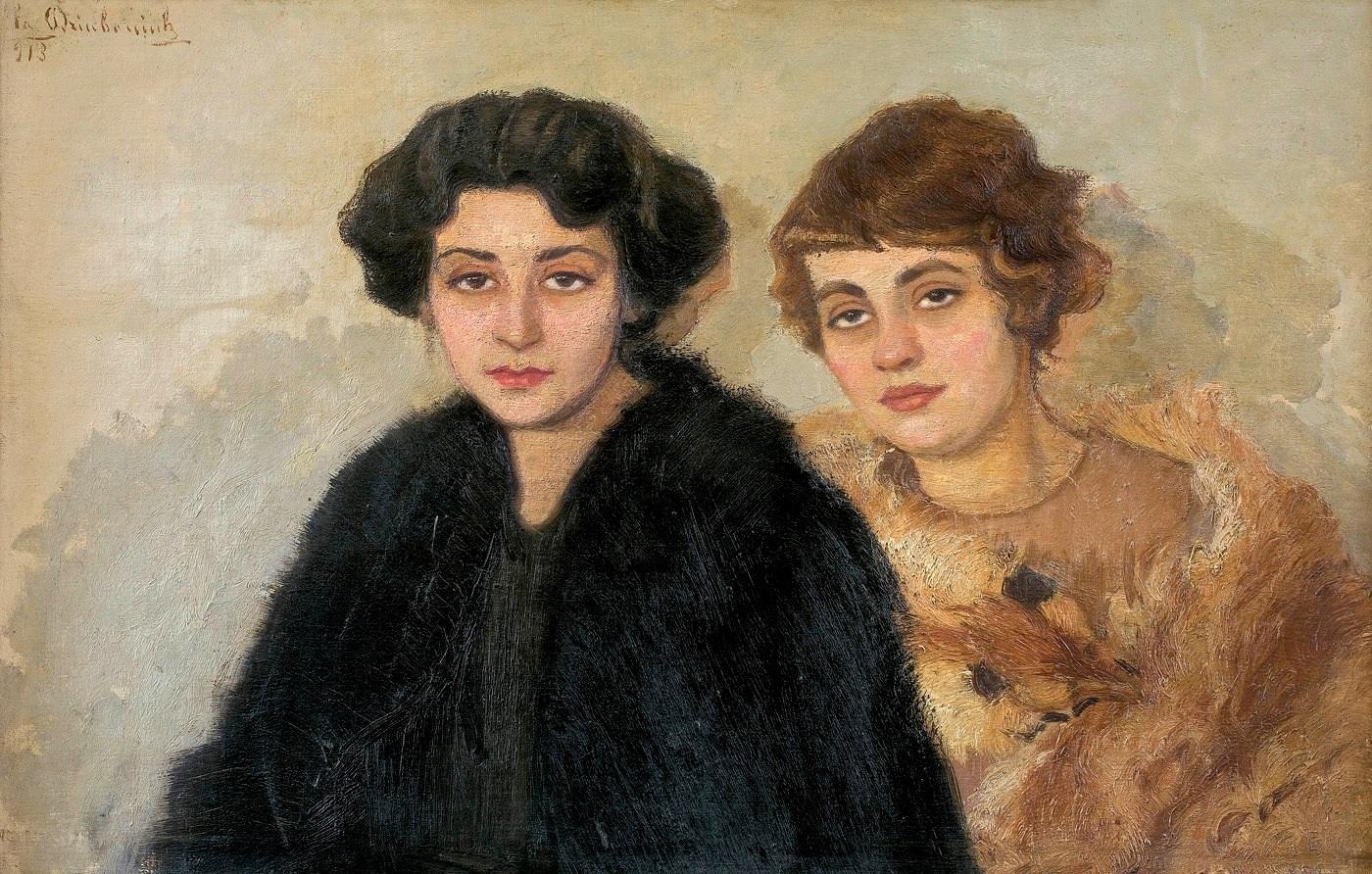 Ельжбета Дзюбанюк. Подруги, 1913