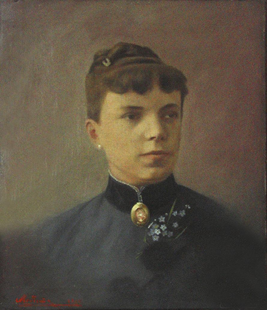 Модест Сосенко. Наталія Лотоцька, 1898; олія, полотно