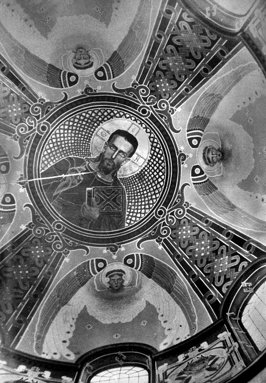 Модест Сосенко. Розписи церкви Успіння в Славсько, 1909-11 (фото поч. ХХ ст)