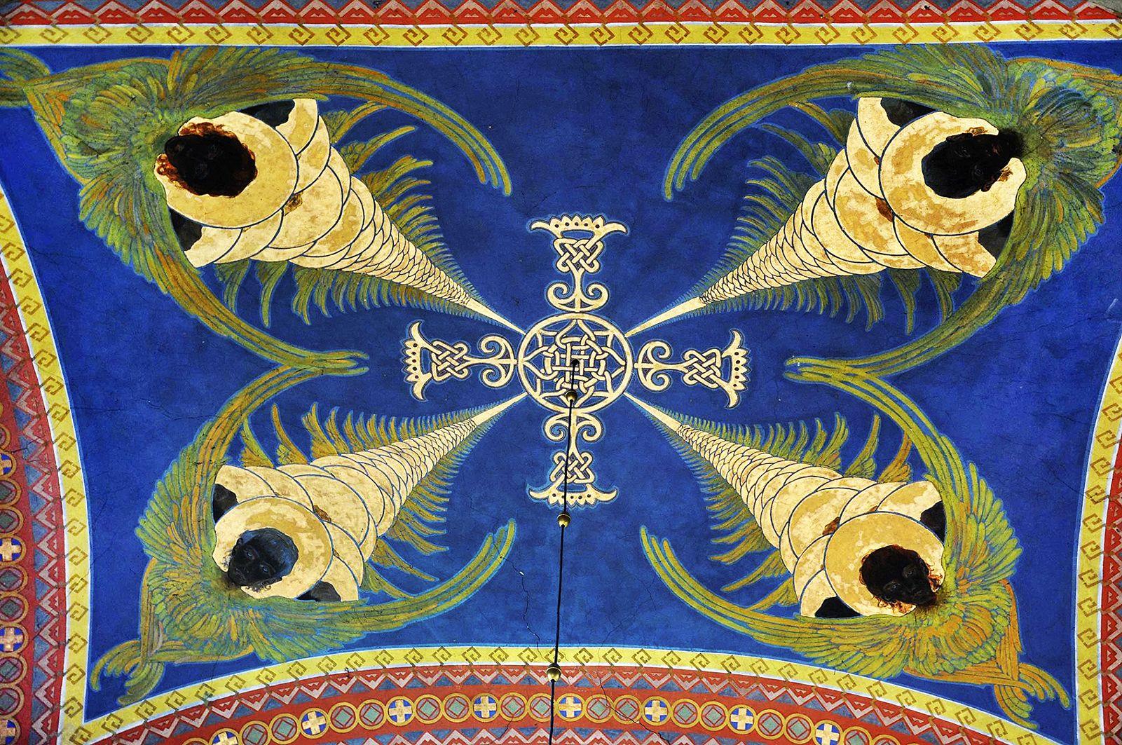 Модест Сосенко. Розписи церкви у селі Підберізці, 1907-10
