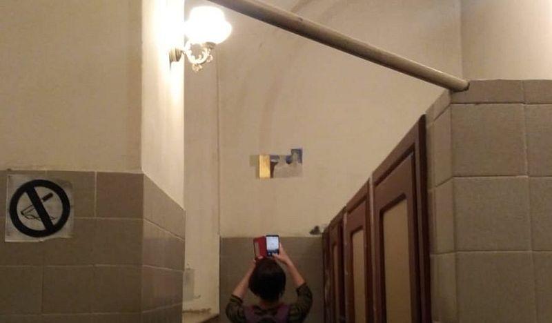 В Органному залі реставрують фрески Розена